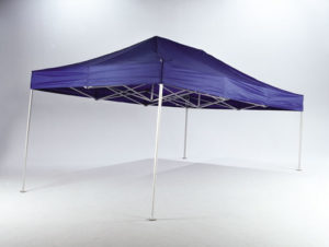 30 sekunder kan man rejse et Standup telt på